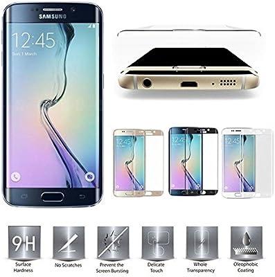 Cristal protector de pantalla para Samsung Galaxy S6 Edge SM de sm ...