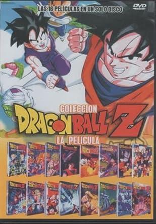 Dragon Ball Z Las 16 Peliculas En Espanol Ntsc Region 1 Latin American Import Movies Tv