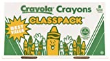 Crayola 400ct Large Size Crayon Classpack 8 colors (52-8038)
