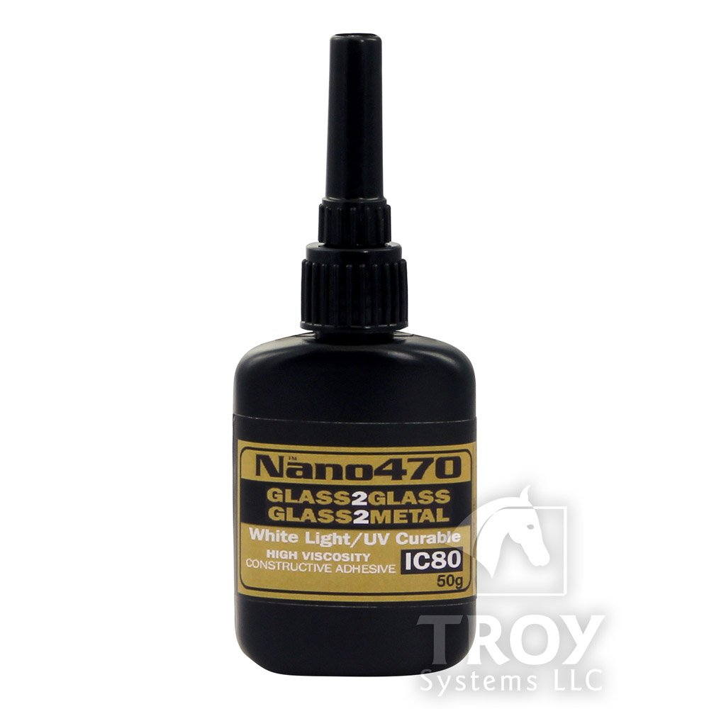 TroySys IC80HV-50GR Nano470 Construction Glass Glue, 50 G