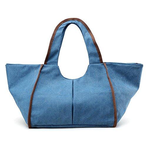 Bolso grande de la bolsa de asas de las señoras Blue