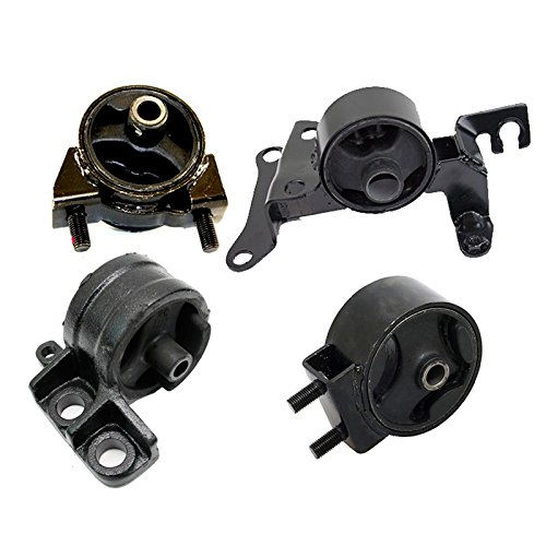 K2100 Fits 1997-2003 Ford Escort 2.0L MANUAL Engine Motor & Trans Mount Set 4pcs : A2651, A2649, A2912, A2843 - Ford Escort Engine Parts