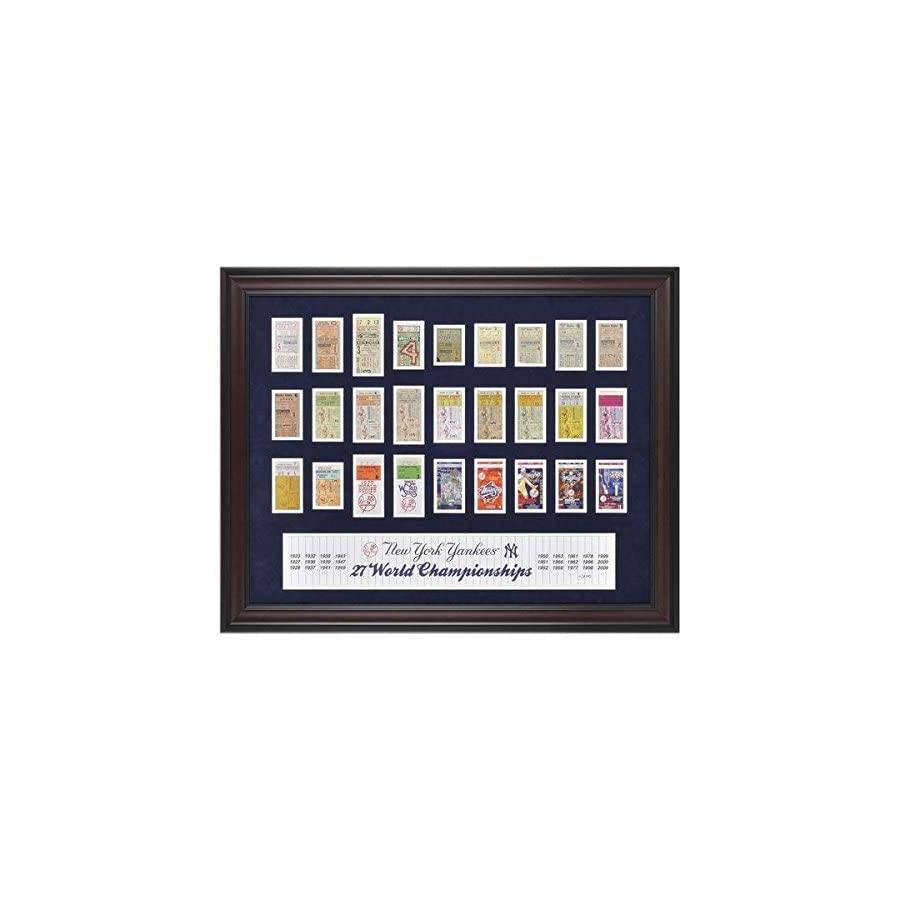 New York Yankees Framed 27 Time Champs Replica Ticket Collage