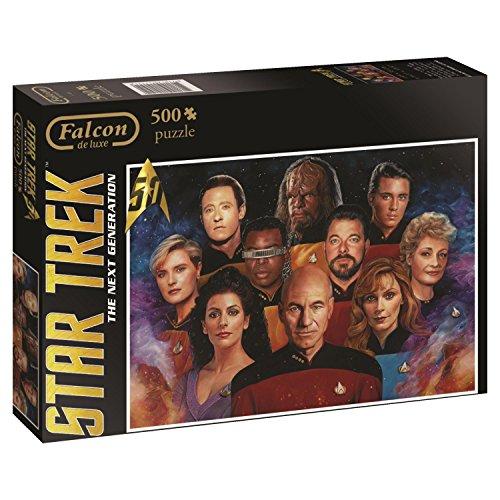 Jumbo Star Trek Next Generation Jigsaw Puzzle (500 Piece) (Puzzle Trek Star Jigsaw)