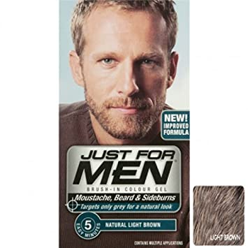 Just For Men M25 Light Brown Beard Dye: Amazon.co.uk: Beauty