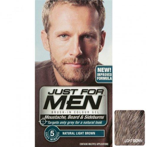 Just for men m25 light brown beard dye amazon beauty just for men m25 light brown beard dye urmus Gallery