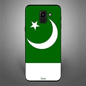 Samsung Galaxy J6 Pakistan Flag, Zoot Designer Phone Covers