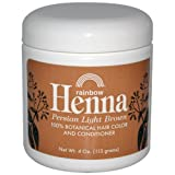 Henna (Persian) - Persian Light Brown, 4 oz ( Pack of 12)