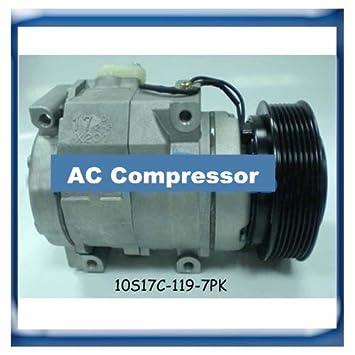 Amazon.com: Gowe AC Compresor Para denso 10s17 C para ...