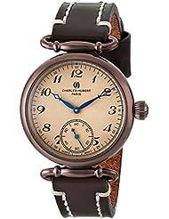 Charles-Hubert, Paris Womens 6957-N Premium Collection Analog Display Japanese Quartz Brown Watch