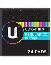 U by Kotex Ultrathin Pads Regular Non Wings 14 Pack