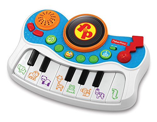 (Fisher Price Music - Keyboard/Piano/Mixer - Musical Studio - Record and Playback - Great for Kids Play & Early Learning)