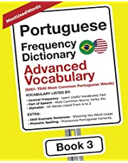 Portuguese Frequency Dictionary - Advanced Vocabulary: 5001-7500 Most Common Portuguese Words