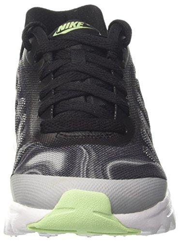 Nike Femmes Air Max Invigor Imprimé Chaussure De Course Noir / Frais Menthe / Loup Gris / Racer Rose