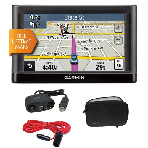 nüvi 52LM 5-Inch Portable Vehicle GPS + GPS Soft Carrying