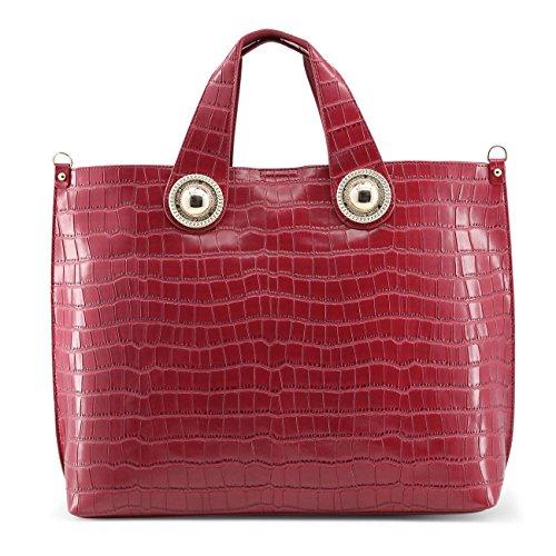Versace Jeans Borsa Donna g Dis.10 Cocco Rosso