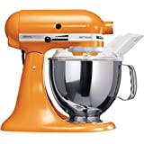 Kitchen Aid 5KSM150 Stand Mixer Tangerine Color - 220 Volts only! Will not Work in the USA