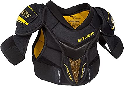 f563cf30506 Image Unavailable. Image not available for. Color  Bauer Supreme TotalONE  MX3 Youth Hockey Shoulder Pads ...