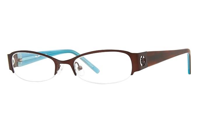 Amazon.com: Baby Phat B0152 Women\'s Eyeglass Frames - Brown: Health ...