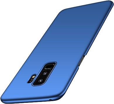 anccer Funda Samsung Galaxy S9 Plus [Serie Colorida] [Ultra-Delgado] [Ligera] Anti-rasguños Estuche para Samsung Galaxy S9+ (Azul Liso): Amazon.es: Electrónica