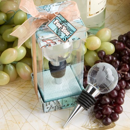 Glass Design Bottle Stopper Favors