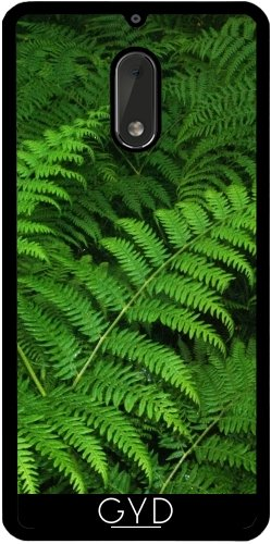 Funda de silicona para Nokia 6 - Helechos by hera56