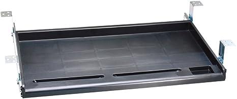 Amazon.com: Aidata KB003B Standard Under Desk Tray, Allows ...