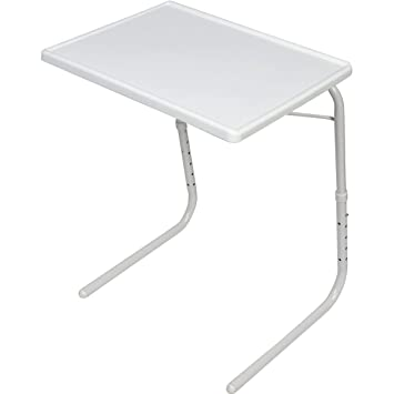Amazon Com Falltown Adjustable Tv Tray Table Home Supplies