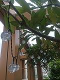 ADCorner Solar Powered String Lights 16Ft 30LED