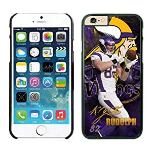 Minnesota Vikings Kyle Rudolph Case For iPhone 6 Plus Black 5.5 inches