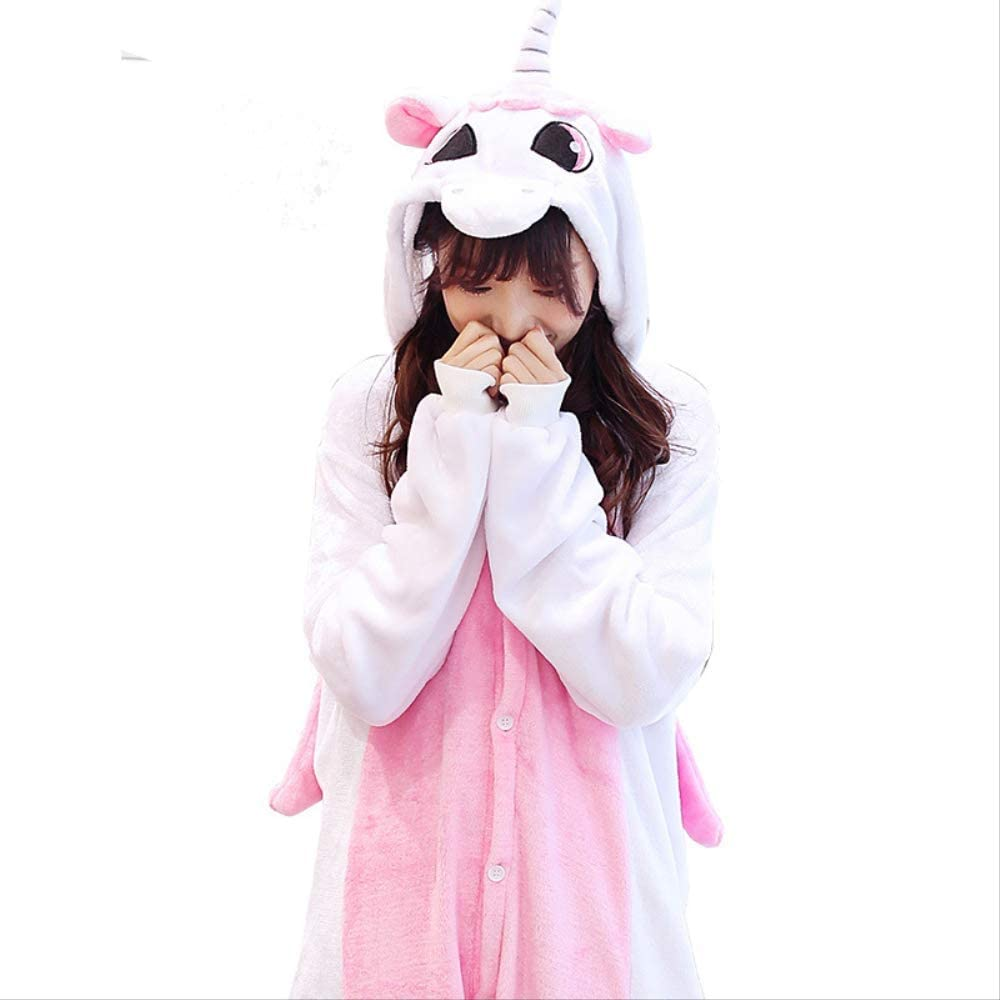 Flanture Cartoon Jumpsuit Cartoon 95/110 Invierno de Unicornio ...