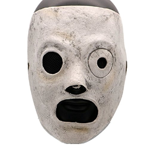 Huafuncos DJ Mask Latex Band Taylor Halloween Cosplay