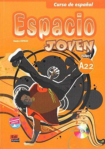 Espacio Joven A2.2 Libro del Alumno + CD-ROM + Eleteca Access (Spanish Edition) PDF