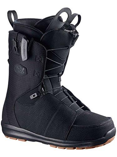 Salomon Snowboards Launch Snowboard Boot - Men's Black/Black/Black, 7.5