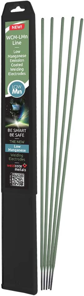 Weldcote Metals E-6013 1//8 Low Manganese Emission Stick Welding Electrodes 1//8-5 pieces pack