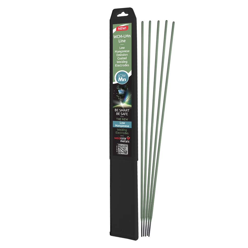 Weldcote Metals E-6011 Low Manganese Emission Stick Welding Electrodes 1//8-5 pieces pack