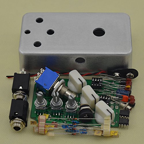 Build Your Own Fuzz Pedal All kits With 1590B Style Aluminum Metal Stomp Box Case
