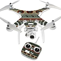 Skin For DJI Phantom 3 Standard – Cabin Stripes | MightySkins Protective, Durable, and Unique Vinyl Decal wrap cover | Easy To Apply, Remove, and Change Styles | Made in the USA