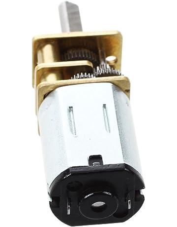 Gray Uxcell DC 12V 70MA 80RPM 16GA Robot Micro Geared Motor