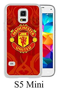 Beautiful And Unique Designed Case For Samsung Galaxy S5 Mini With Manchester United 6 white Phone Case