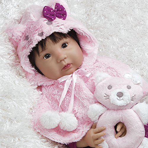 Paradise Galleries Lifelike Realistic Reborn Like Doll Vinyl Sillicone Like 20 inch Baby Asian Girl Doll Gift