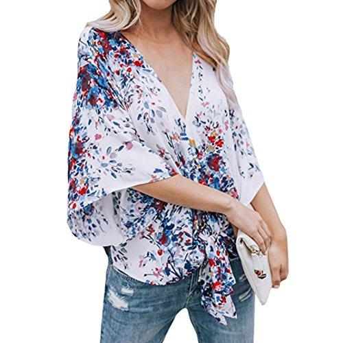 Overcoat K9 (UONQD Woman blouse black design white blouses for women ladies online shirt womens tie neck floral dress silk high satin leopard print cream chiffon long sleeve (Large,White))