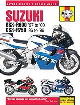 Suzuki GSX-R600 & 750 1996 - 2000 (Haynes Service & Repair Manual)