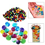 1000 marbles - Water Beads | 1000 Pieces Mixed Colors Water Pearls | Great for Vases, Plants, Decorations