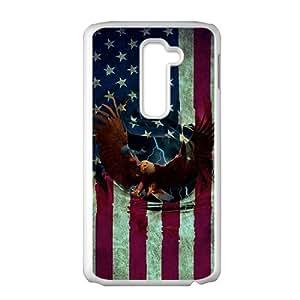American Eagle Flag White LG G2 case