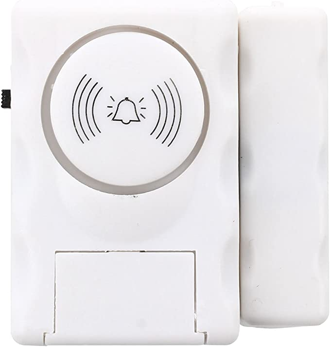 SODIAL Detector magnetico de apertura puerta ventana Alarma Casa de seguridad: Amazon.es: Bricolaje y herramientas