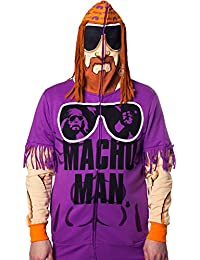 Men's WWE Macho Man Randy Savage Costume Hoodie Sweatshirt