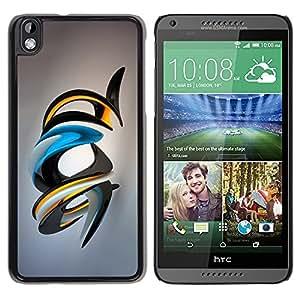 "For HTC DESIRE 816 , S-type Brillante Arte Abstracto"" - Arte & diseño plástico duro Fundas Cover Cubre Hard Case Cover"
