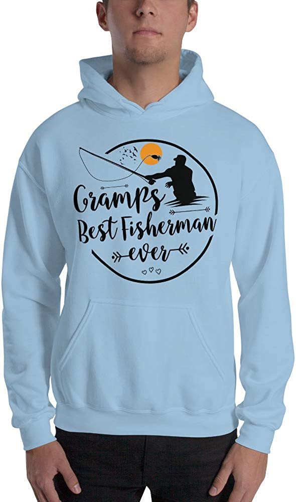 Pod Only Gramps Best Fisherman Ever Fishing Gift Unisex Hoodie