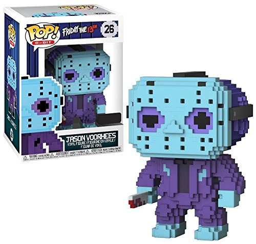 Funko POP! 8-Bit: Friday the 13th - Jason Voorhees (NES Colors)-Exclusive ()